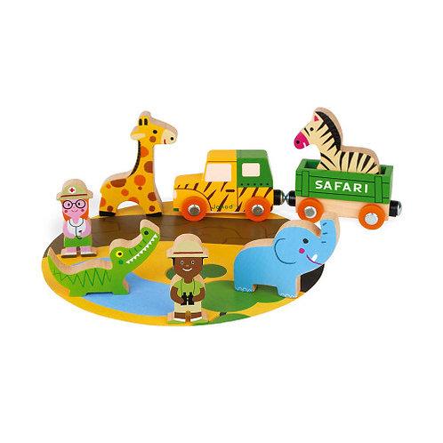 Janod Wooden Story Safari Set