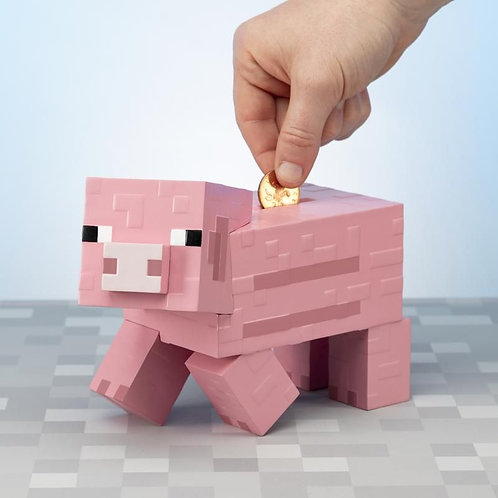 Minecraft Piggy Bank