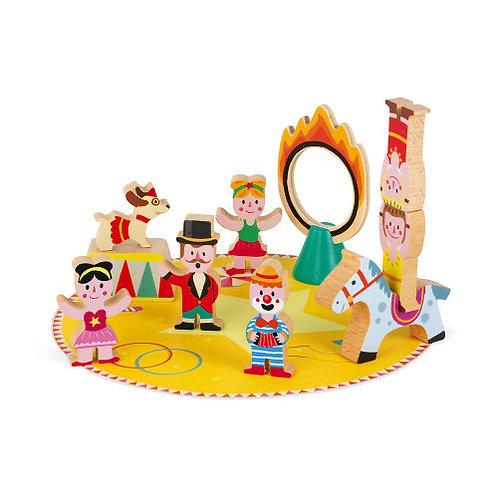 Janod Wooden Circus Set