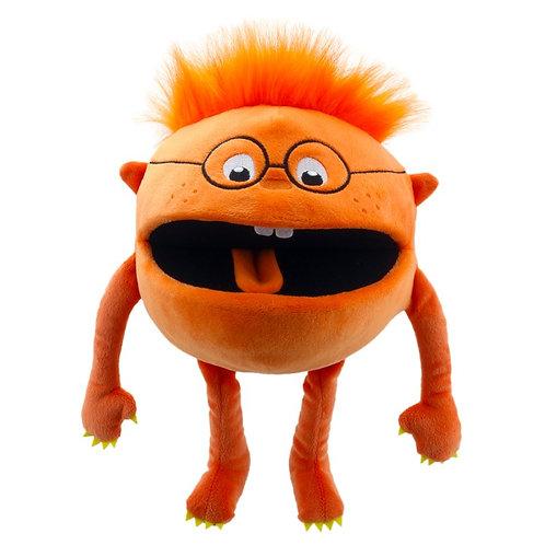 Baby Monster Orange Hand Puppet