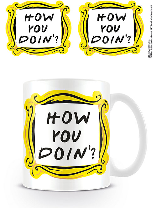 Friends How You Doin'? Mug