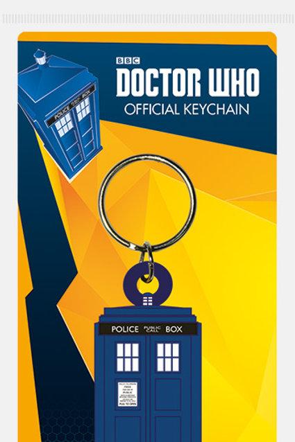 Doctor Who Tardis Keyring