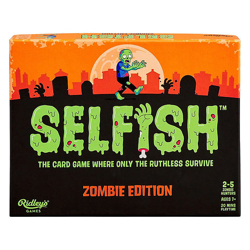 Ridley's Games Selfish: Zombie Edition Game