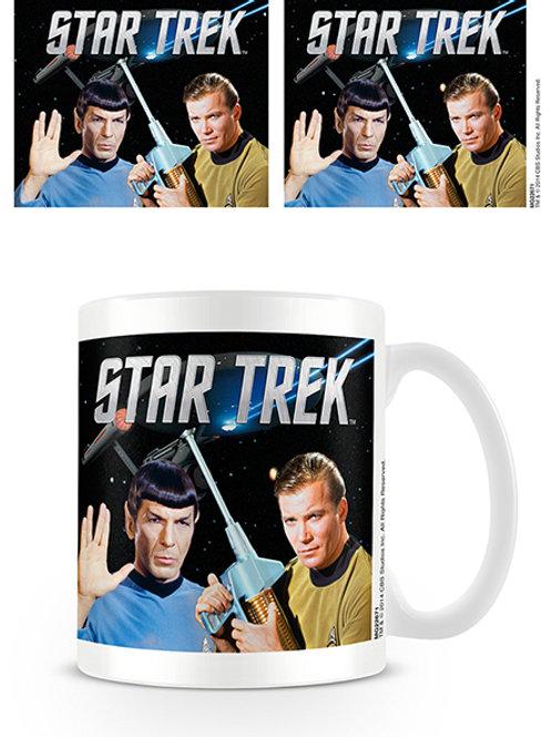 Star Trek Kirk & Spok Mug