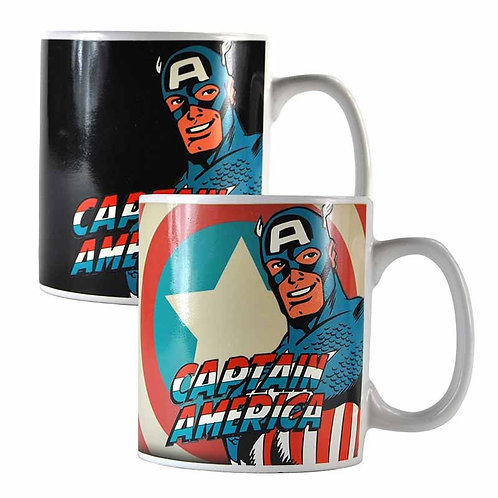 Marvel Heat Changing Captain America Mug