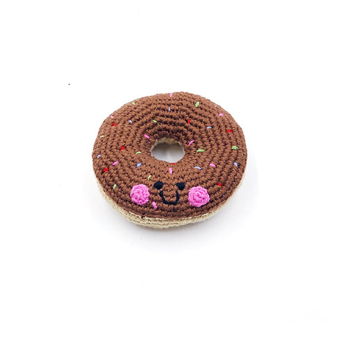 Chocolate Doughnut Toy by Pebble Child