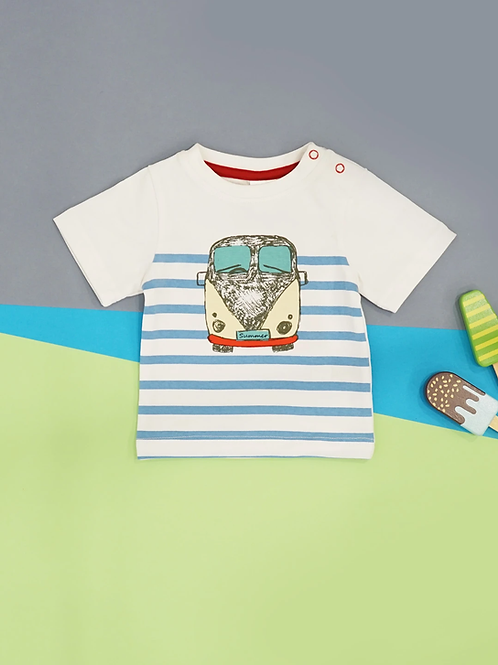 Campervan Blade and Rose Baby Tee