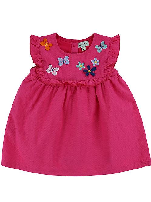 Lilly & Sid Butterfly Yoke Dress
