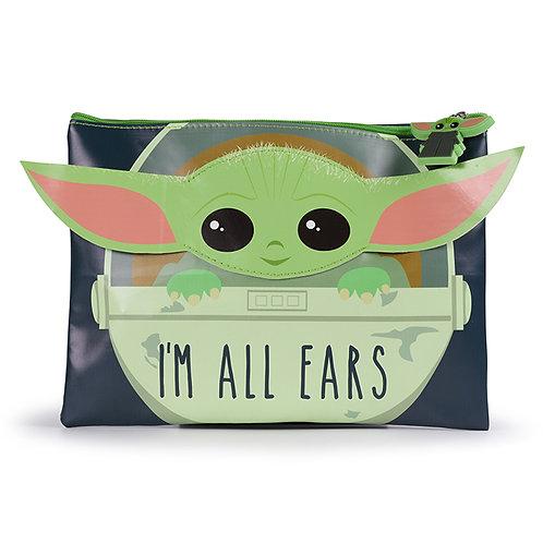 "Star Wars Mandalorian ""The Child"" I'm All Ears Pencil Case"