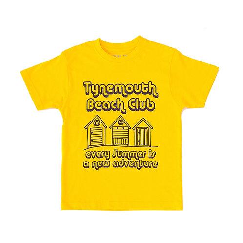 Tynemouth Baby Tee (Beach Huts)