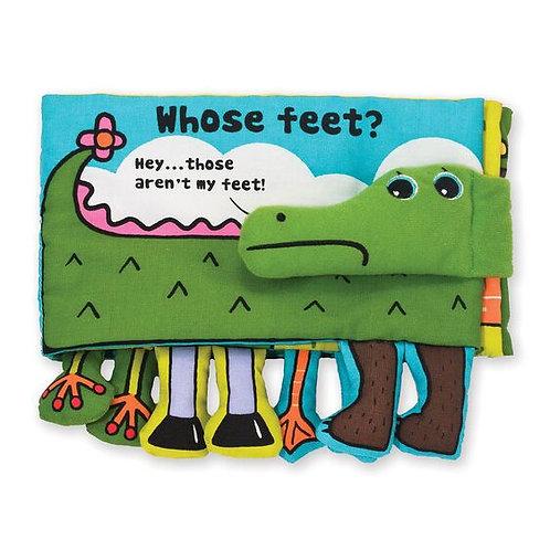 Melissa & Doug Whose Feet Fabric Book