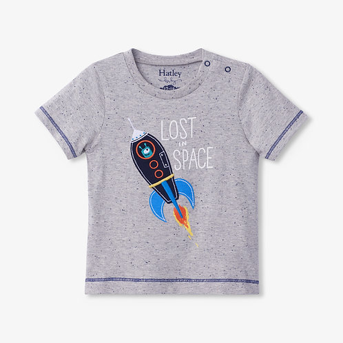Hatley Glow In The Dark Rocket baby Tee