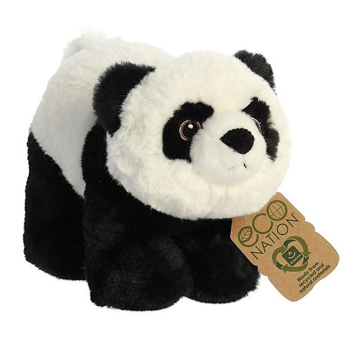 Eco Nation Panda Soft Toy