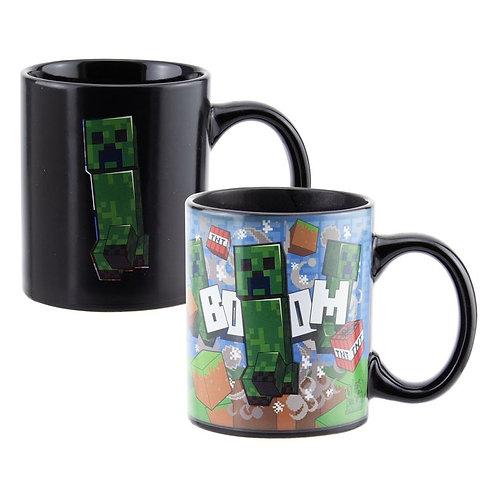 Minecraft Creeper Heat Change Mug