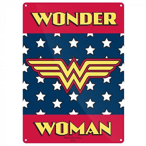 DC Wonder Woman Tin Sign
