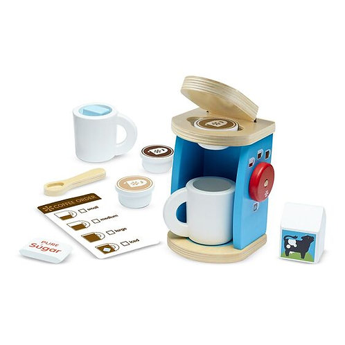 Melissa & Doug Wooden Coffee Machine