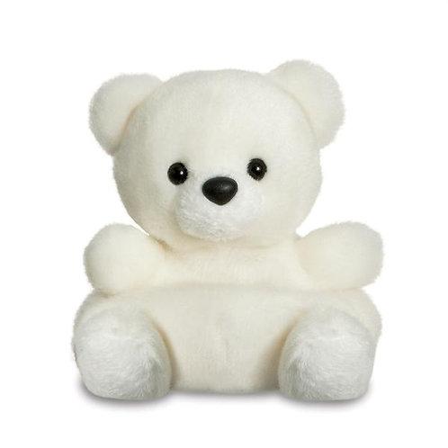 Palm Pals Snowy Polar Bear 5in Soft Toy