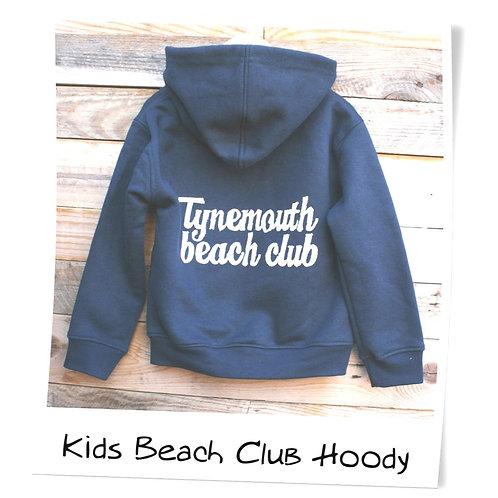 Local Hero Tynemouth Beach Club Navy Baby Hoody