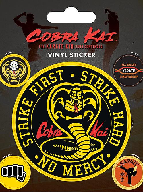 Cobra Kai Sticker Set