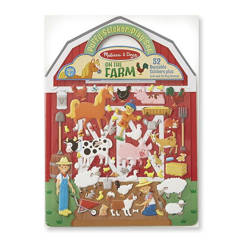 Melissa & Doug Reusable Farm Stickers