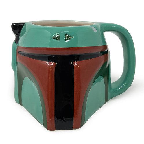 Star Wars Boba Fett 3D Sculpted Shaped Mug