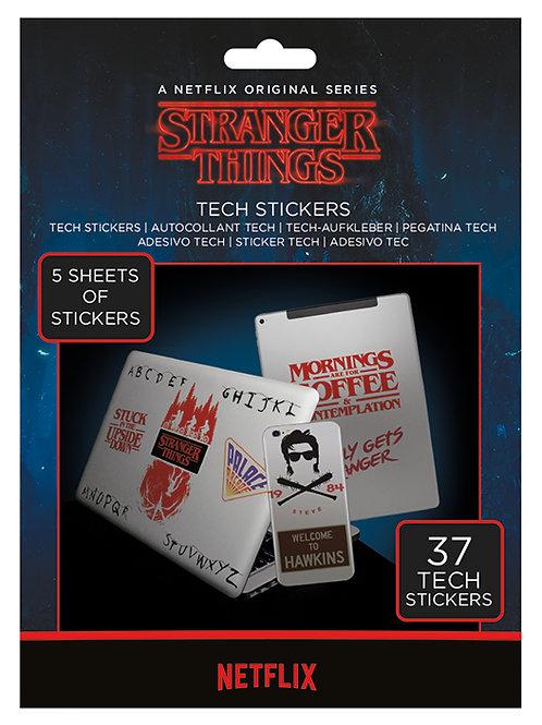 Stranger Things The Upside Down Tech Sticker Pack