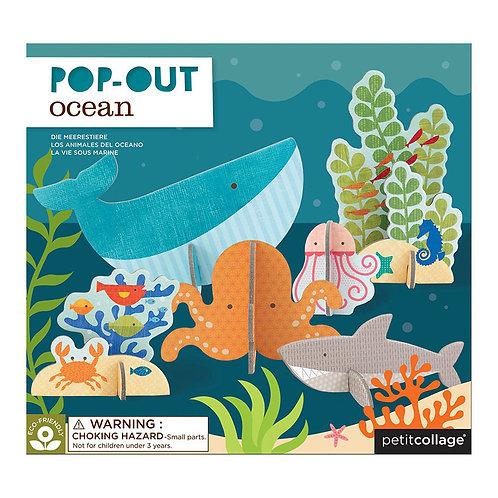 Petit Collage Pop-Out Ocean Play Set