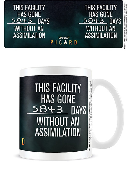 Star Trek Assimilation Mug
