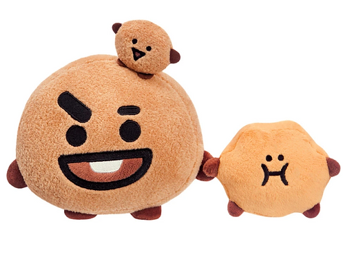 BT21, SHOOKY Soft Toy, Small, 6In