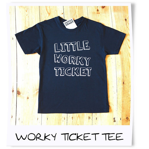 Little Worky Ticket Geordie Tee