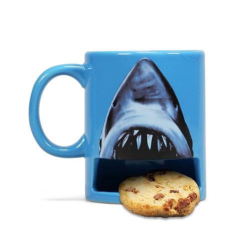Jaws Cookie Holder Mug
