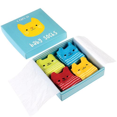 Kitten Baby Socks Set