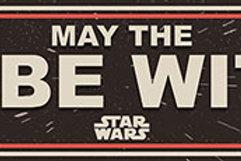 Star Wars Wooden Sign