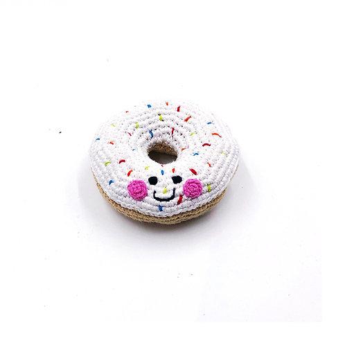 White Doughnut Toy by Pebble Child