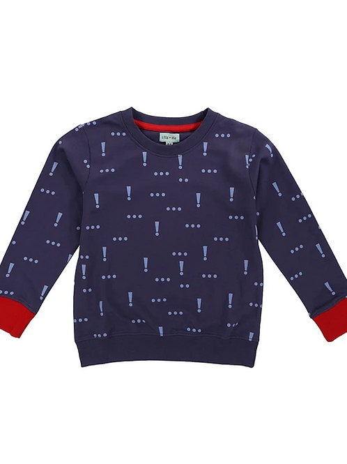 Lilly & Sid Organic Exclamation Sweatshirt