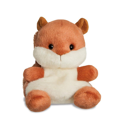 Palm Pals Nibbles Squirrel 5in Soft Toy