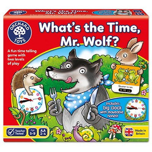 Orchard Toys What's The Time Mr Wolf? Game