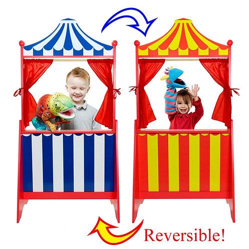 Floor Standing Reversible Puppet Theatre
