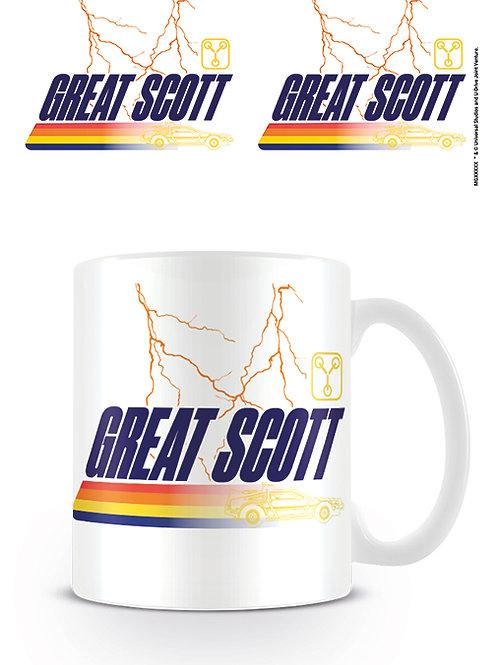 Back To The Future Great Scott Mug