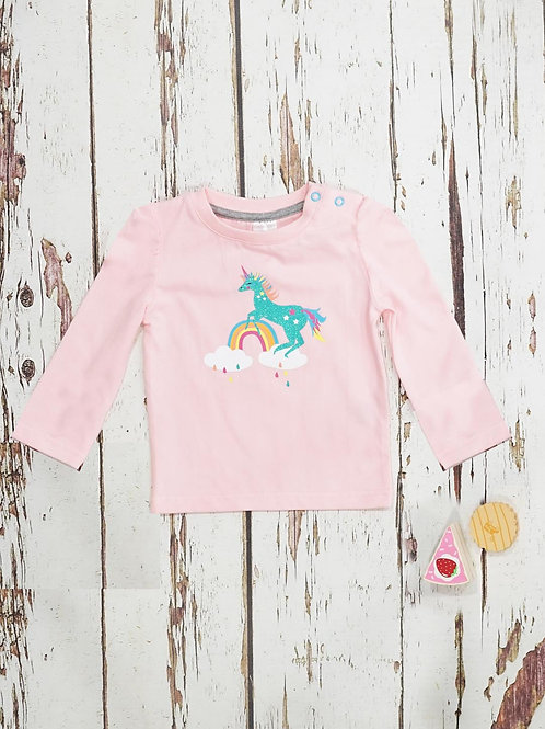 Blade & Rose Sparkly Unicorn Baby Top