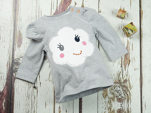 Flower Face Blade and Rose Baby Top
