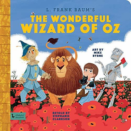 Wonderful Wizard of Oz: A BabyLit Storybook Hardcover