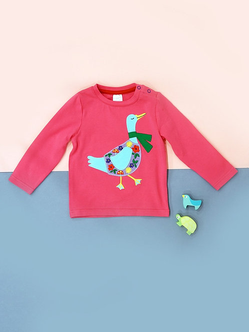Casey The Goose Blade and Rose Baby Top