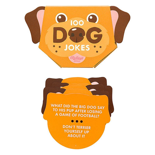 Ridley's Games 100 Dog Jokes