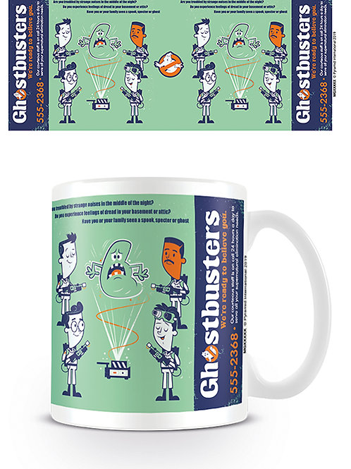 Ghostbusters Call Now Mug