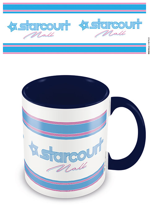 Stranger Things Starcourt Mall Blue Coloured Inner Mug