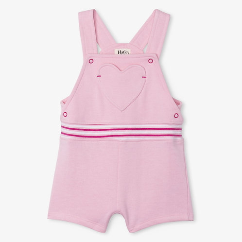 Hatley Candy pink Baby Overalls