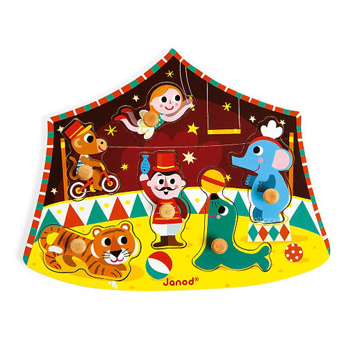 Wooden Circus Puzzle