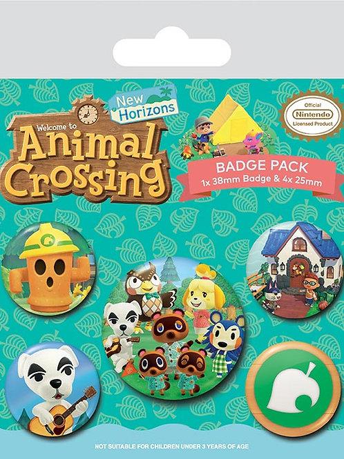 Animal Crossing Badge Pack