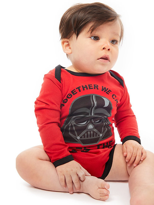 Fabric Flavours Star Wars Darth Vader Baby Vest